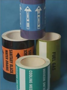 DOT Pipeline identification tapes